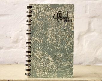 "Spiral Bound Notebook Tartuensis College ""Blue Hessian"", College Notebook"