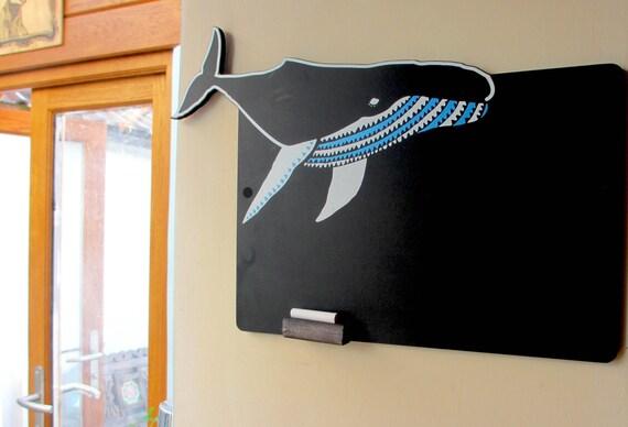 Blue Whale Chalkboard