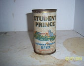 1950's Student Prince Imported Beer Konigsbacker Brewery Koblenz Germany 12 oz Metal can beer can