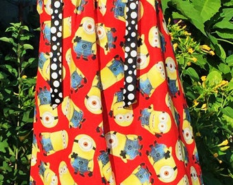 Toss Minion pillowcase dress-MINION