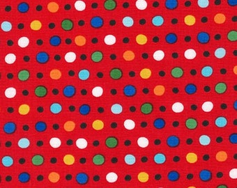 Jump Into Fun Dots 15397-3 Red by Amy Schimier-Safford for Robert Kaufman