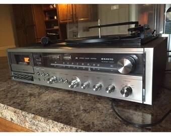 Vintage Sanyo Stero system JXT-6460