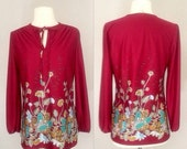 ON SALE Boho chic 1970's top from WithIt California
