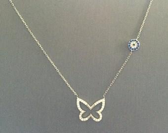Butterfly Eye Necklace