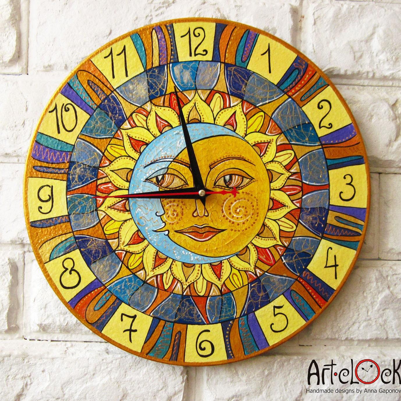 Art wall clocks art print home decor by artclock on etsy amipublicfo Images