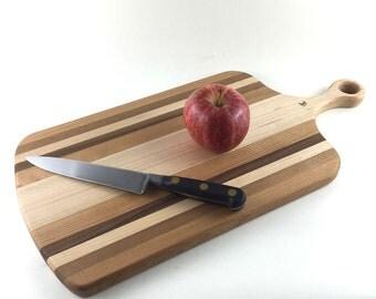 wood cutting board, cheese board, bar board, handmade
