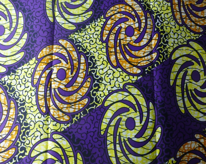 African Print Cotton Fabric For Dressmaking and Craft Making/Ankara Print Sold By The Yard152201243593