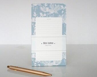 """1 Jungle#2 """"Notes"""" notepad - 1 bloc-notes Jungle#2 """"Notes"""""""