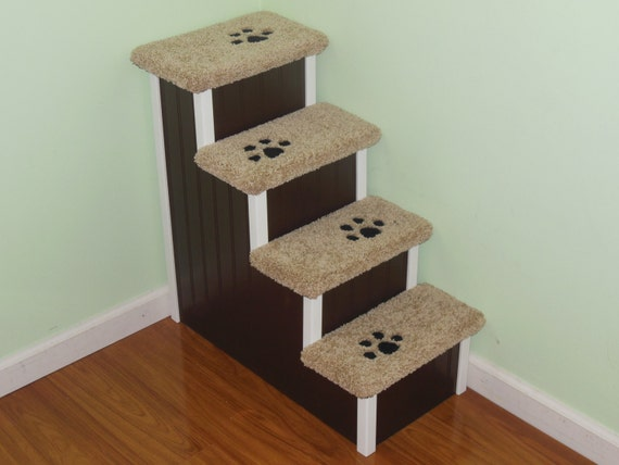 Pet Stairs 28 High Wooden Dog Steps Handmade In USA