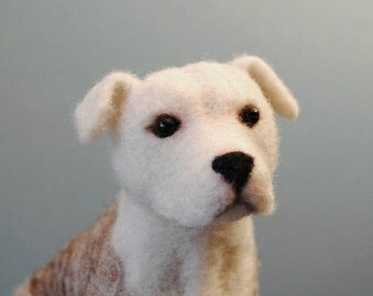 "Shop ""staffordshire bull terrier"" in Fiber Arts"