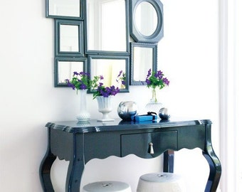 Mirror and backing add-on for any frame