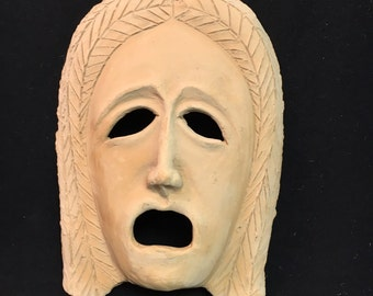 Terracotta Tragedy Mask