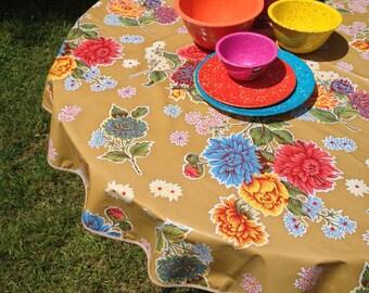 Oil Cloth Tablecloth   Etsy