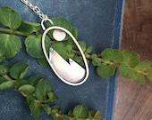 Silver Mountain Pendant