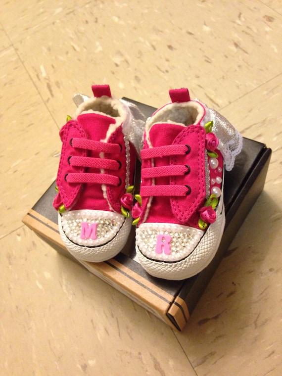 Hot Pink Baby Chucks/Converse