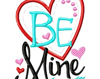 Be Mine - heart - Valentines custom shirt