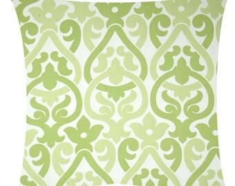 Green Pillow  SALE  Decorative Designer Pillow Cover