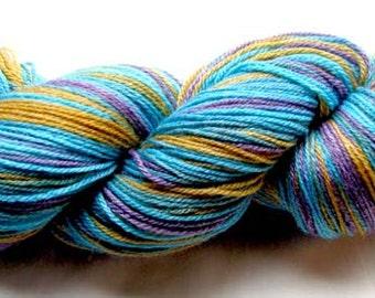 Hand Painted Sock Yarn 430 yds.