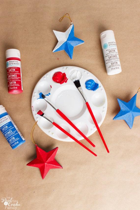 4th Of July Stars Craft Kit Kids Craft