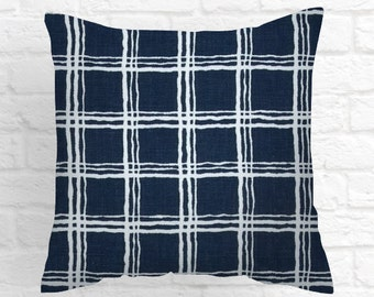 Navy Throw Pillow Covers