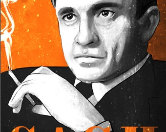 50% OFF WOW Johnny Cash Musician Poster