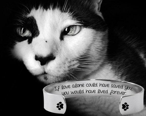 Pet Memorial Gifts   Condolence Gift   Dog Memorial Gift   Cat Memorial Gift   Custom Personalized Bracelet Korena Loves