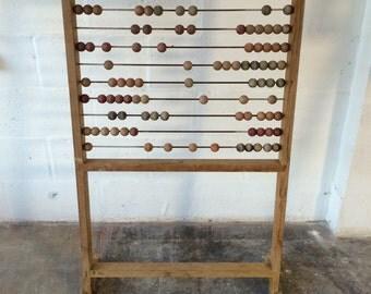 Large Vintage wooden Abacus