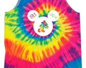 Disney Thirteen Point One 2016 Run Disney Running Tank Tie Dye Disney Tank Mickey Running Tank Walt Disney Marathon Tank Half Marathon Tank
