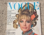 Vintage Vogue Magazine November 1,