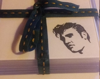 Elvis acrylic coaster set