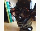 LOVE U SALE Deadstock Brown Circular frame Sun Glasses