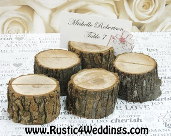75 rustic place card holders tree card holders place holders rustic wedding decor