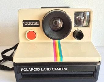 Vintage Polaroid 1000 Land Camera Red Button