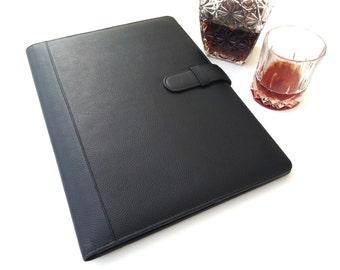 Leather Padfolio, Leather Folio, Leather Folder, Leather Portfolio, Leather notebook, Portfolio Folder, presentation Folder, Christmas Gift
