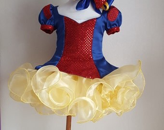 Snow White Pageant Dress - Toddler Sized