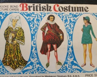British Costume - Completed Cigarette/Tea Card Album