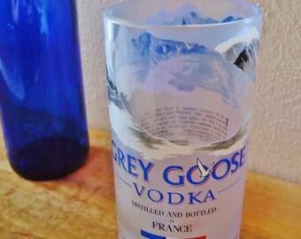 Grey Goose Vodka Bottle Drinking Glass