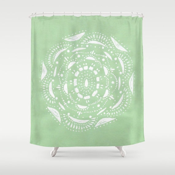 shower curtain mint bathroom mint green curtain mint shower curtain