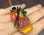 Sushi Boat Ring