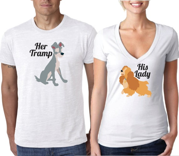 Items Similar To Disney Shirt Lady And The Tramp Shirt