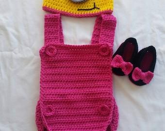 Crochet Boy or Girl Minion Costume