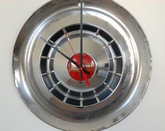 1954 Chevy Hubcap Clock