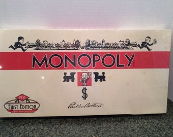 MONOPOLY 1935 Deluxe First Edition Classic Reproduction / New in Box