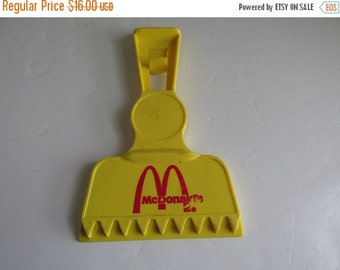 SALE 1960s RARE McDonalds Window Scraper Car Ice Scraper McDonalds Memorabilia Vintage McDonalds Collectible Items