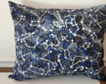 Glow In The Dark Handmade Overstuffed Cotton Throw Pillow