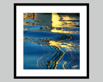 Blue Water Reflections