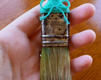 Paintbrush Brooch