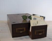 Card Catalog General Fireproofing Vintage, File Drawers, Storage Drawers