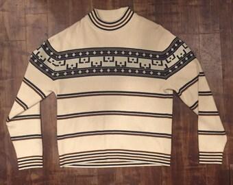 Vintage Striped Sweater
