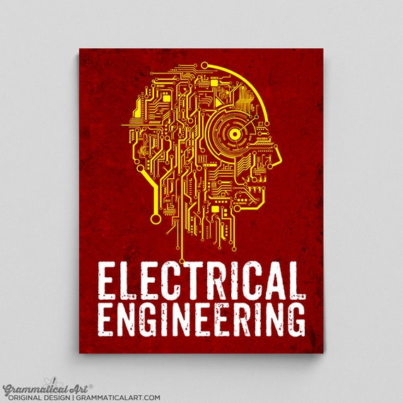 Electrical Engineer Poster Engineering Circuit Board Teacher